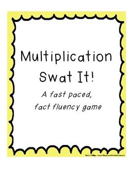 Multiplication Swat It