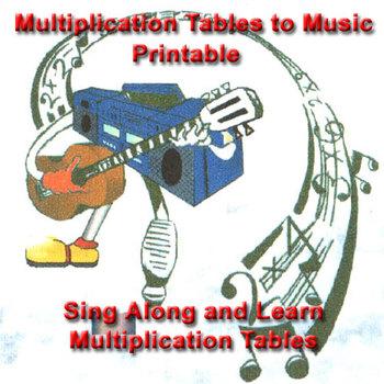 Multiplication Tables Printable Sheet - 1 through 12 multi