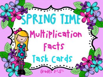 Multiplication Task Cards (1-12)