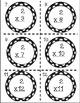 Multiplication Task Cards Bundle