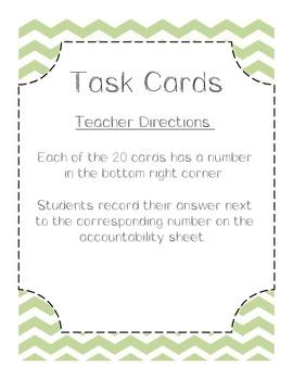 Multiplication Task Cards - Common Core Aligned Multiplica