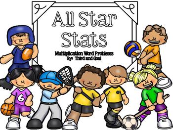Multiplication Task Cards (Sports Theme)