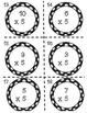 Multiplication Task Cards x5