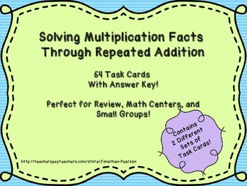 Multiplication Through Repeated Addition - 2 Sets of Task