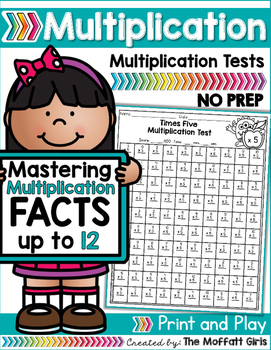 Multiplication: Timed Tests