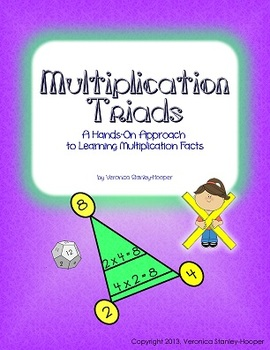 Multiplication Triads - Work Pages and Game - Multiplicati