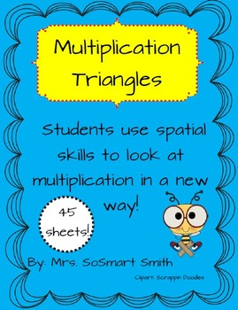 Multiplication Triangle Practice
