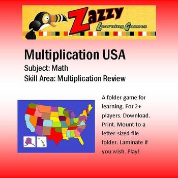 Multiplication USA Multiplication Review