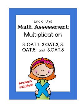 Multiplication Unit Assessment