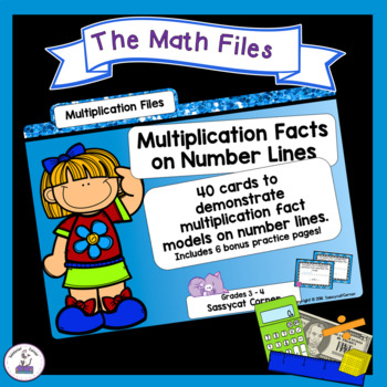Multiplication Using Number Lines