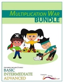 Multiplication War – BUNDLE – 3 Engaging Double-Digit Mult