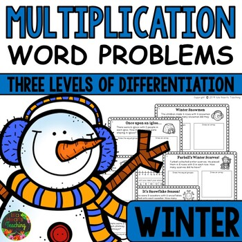 Multiplication Word Problems: Winter