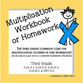 Multiplication Workbook: Strategies, Facts, Word Problems,