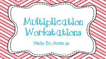 Multiplication Workstations: Arrays, Repeated Addition, &