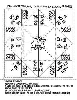 Multiplication X7 - Spanish