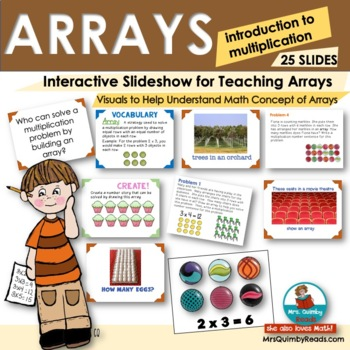 Multiplication and Arrays Powerpoint - Grade 3 Common Core