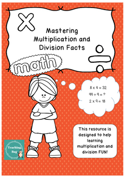 Multiplication and Division A3 games
