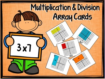 Multiplication and Division Arrays | for Visual Learners