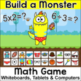 Back to School Activities: Monster Multiplication & Divisi