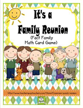 Multiplication and Division Card Game (CC Aligned)