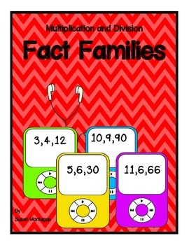Multiplication and Division Fact Families