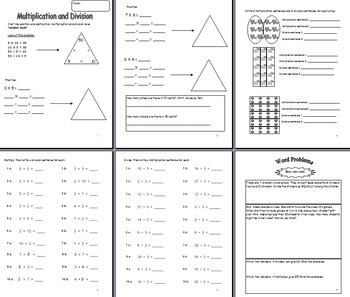 Multiplication and Division Families