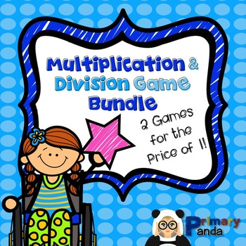Multiplication and Division Game Pack of 2