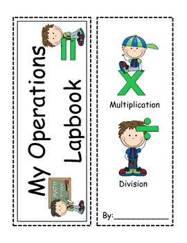 Multiplication and Division Interactive Lapbook