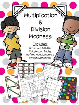 Multiplication and Division Packet!