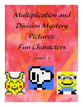 Multiplication and Division Mystery Pictures
