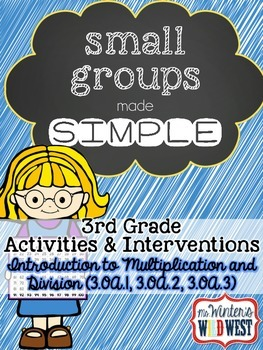 Multiplication and Division: Small Group Activities and In