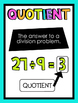 Multiplication and Division Strategy Posters
