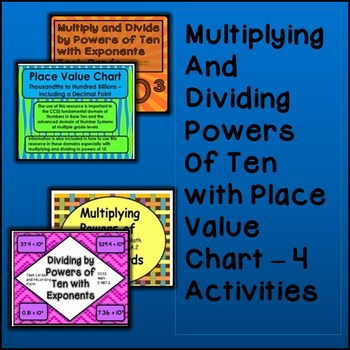 Multiplication and Division of Powers of Ten with Exponent