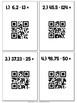 Multiplication and Division with Decimals QR Code Task Cards