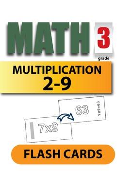 3rd Grade Multiplication Flash Cards
