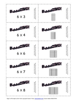 Multiplication for Mastery concentration