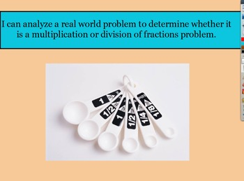 5.NF.6 & 5.NF.7 Multiplication or division of fractions mi