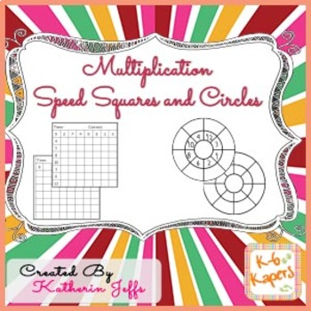 Multiplication Speed Squares and Circles