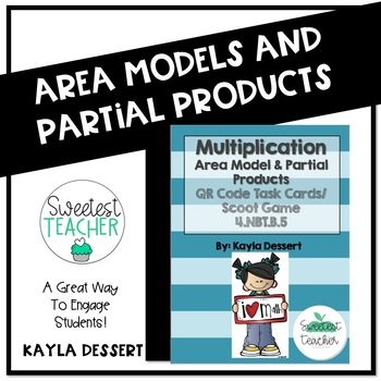 Multiplication with Area Models and Partial Products QR Co