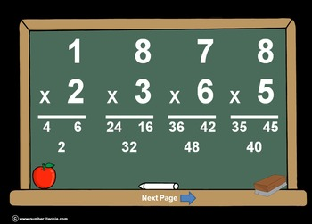 Multiplication(All Levels)PowerPoints + Matching Worksheet