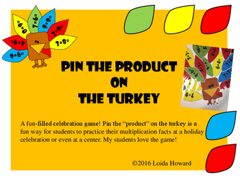 Multiplication_Pin the Product on the Turkey