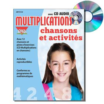 French Math Songs (Multiplication) - MP3 Album Download w