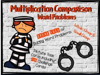 Multiplication Comparison Word Problems