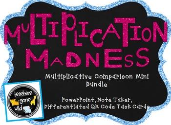 Multiplicative Comparisons Mini Bundle