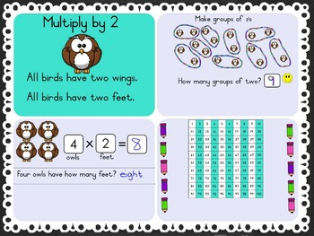 SMART Notebook - Multiply 2 (2x)