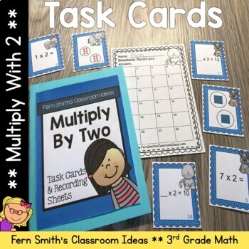 Multiply By Two Task Cards