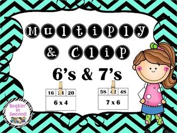 Multiply & Clip 6's & 7's