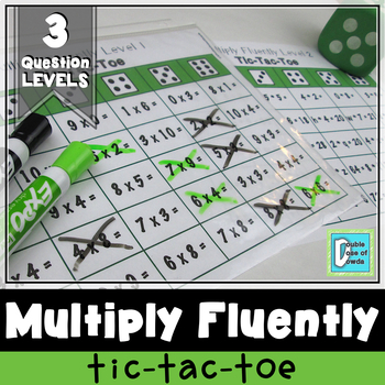 Multiply Fluently Tic-Tac-Toe