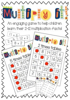 Multiplication Game: Multiply it!