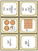 Multiply Whole Numbers by Fractions and Mixed Numbers